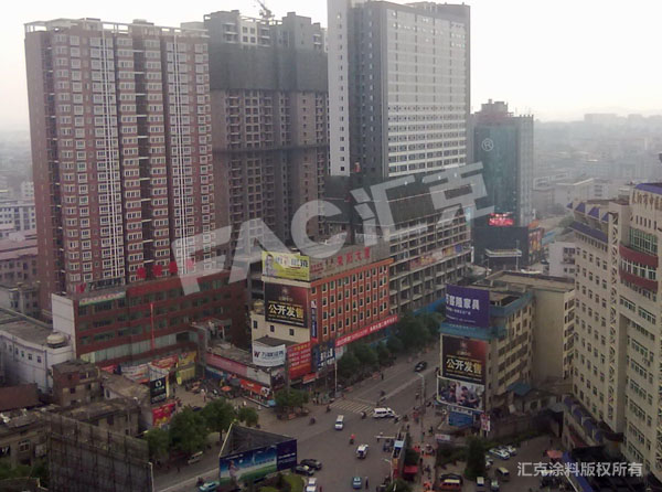 耒阳市街道外立面改造工程